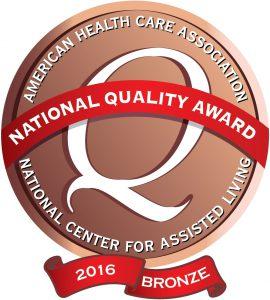 2016 Bronze Logo
